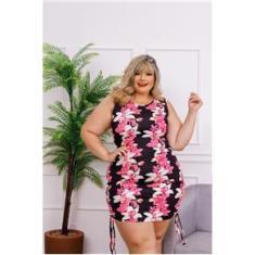 Imagem de Vestido Plus Size Feminino Moda Roupas Femininas GG