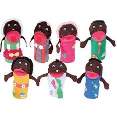 Imagem de Fantoches Família Feltro Carlu Brinquedos