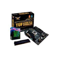 Kit Upgrade Intel® Core™ i5 9400F + TUF B360M-PLUS GAMINGBR + Memória 8GB DDR4