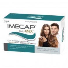 Imecap Hair Max Cabelos e Unhas c/30 Cápsulas