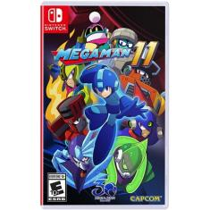 Jogo Mega Man 11 Capcom Nintendo Switch