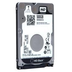 Imagem de HD Notebook 500GB SATA3 Western Digital Black - WD5000LPLX (2,5pol, 7.200 RPM)