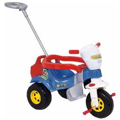 Imagem de Triciclo com Pedal Magic Toys Tico-Tico Bichos com Som e Luzes