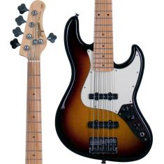 Imagem de Baixo Jazz Bass 5 Cordas Tagima TJB535 Sunburst Passivo