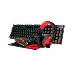 Imagem de Kit Gamer Led Mouse /Teclado /Headset /Pad - Eg-51 - Evolut