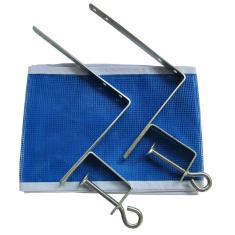 Suporte E Rede Para Mesa De Ping Pong Klopf 3 Peças 5070