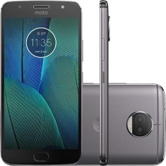 Smartphone Motorola Moto G G5S Plus XT1802 TV Digital 32GB Qualcomm Snapdragon 625 13,0 MP 2 Chips Android 7.1 (Nougat) 3G 4G Wi-Fi