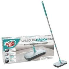 Mop Vassoura Magica Plus Flash Limp 360 Giratorio 7245
