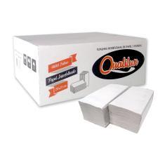 Imagem de Papel Toalha 100% Celulose 2 Dobras 20 x 21 cm Cx C/ 4800 Folhas - Qualilux