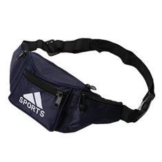 Imagem de MEIYIN Bolsa de cintura esportiva impermeável para acampamento, cinto de dinheiro masculino para viagem, bolsa de cintura esportiva, bolsa de cintura