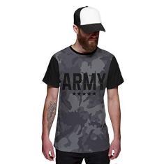 Imagem de Camiseta Camuflada Army Grafite Exército