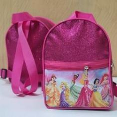 Imagem de Mochila Glitter com bolso no tema Princesas