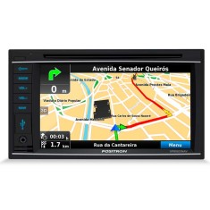 "Central Multimídia Automotiva Pósitron 6 "" SP8920 NAV Touchscreen Bluetooth"