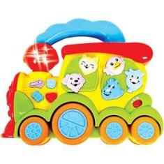 Imagem de Brinquedo para Bebês Trem Fazendinha Zoop Toys
