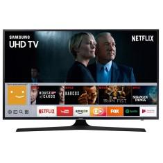 "Smart TV TV LED 43"" Samsung Série 6 4K HDR Netflix 43MU6100 3 HDMI"
