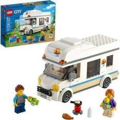 Imagem de Novo Lego City Trailer De Férias 60283 Edição Ilimitada