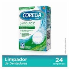 Imagem de Limpador Dental Corega Tabs 24 Comprimidos