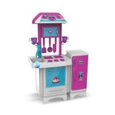 Imagem de Cozinha Infantil Completa Pink com Água - Magic Toys