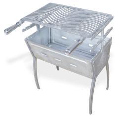 Imagem de Churrasqueira portátil desmontável alumínio fundido