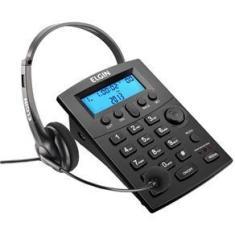 Headset Elgin Hst - 8000 com Identificador de Chamadas -