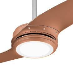 Ventilador de Teto com Controle Remoto Spirit Wind 203 Titanium 17 cm 2 Pás