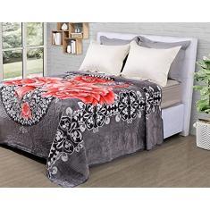 Imagem de Cobertor Queen Raschel 420 g/m² Sonhare Sultan Tigre