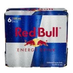 Imagem de Bebida energética RED BULL - Red Bull - Pack com 6 unid. de 250 ml