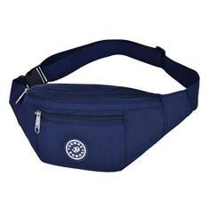 Imagem de Esquirla Pochete de cintura bolsa de cinto bolsa de viagem esportiva quadril bolsa masculina feminina transversal -