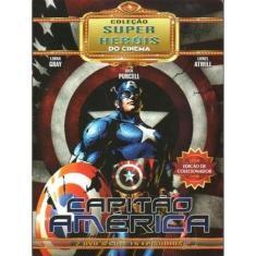 Imagem de Box Capitão América Coleção Super Heróis Do Cinema 02 Dvds Ed. Colecionador