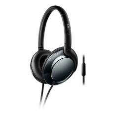 Fone de Ouvido com Microfone Philips SHL4805DC Dobrável Gerenciamento chamadas