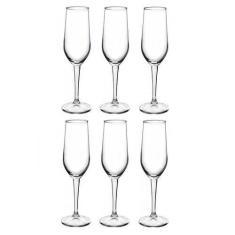 Imagem de Taça De Champagne 6 Peças Bormioli Riserva Cristalin 205ml