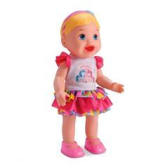 Imagem de Boneca My Little Collection Come e Faz Caquinha Divertoys