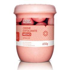 Imagem de D'agua Natural Creme Esfoliante Apricot Media Abrasão 650g