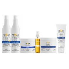 Imagem de Kit de Tratamento Completo Yellow Curls Pequeno