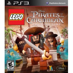 Jogo Lego Piratas do Caribe PlayStation 3 Disney