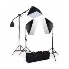 Imagem de Kit De Iluminação Softbox 50X70 - Pk-Sb03 495W