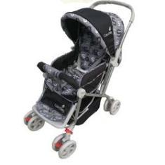 Imagem de Carrinho De Bebê Passeio Vira Berço Alça Reversível
