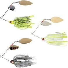 Kit 3 Iscas Spinner Bait Artificial