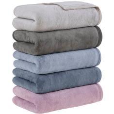 Imagem de Cobertor Queen Flannel Davos  - Casa & Conforto