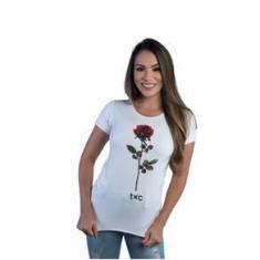 Imagem de Camiseta Feminina Txc Bege 4830