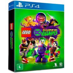 Jogo Lego DC Super Vilões PS4 Warner Bros