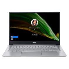 """Notebook Acer Swift 3 SF314-42-R4EQ AMD Ryzen 5 4500U 14"""" 8GB SSD 512 GB Windows 10 Wi-Fi"""