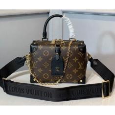 Imagem de Bolsa Feminina Louis Vuitton LV Petite Malle Promoção Mão ou transversal mini bag