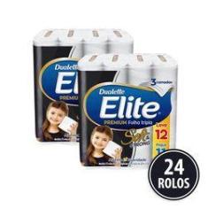 Imagem de Papel Higienico Folha Tripla Elite 24 Rolos Promoção
