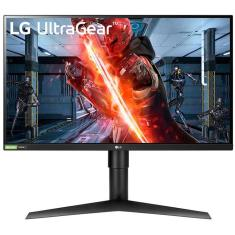 """Imagem de Monitor Gamer IPS 27 """" LG Full HD UltraGear 27GN750"""