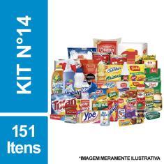 Imagem de Cesta Básica De Alimentos, Higiene E Limpeza C/ 151 Itens