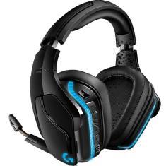 Headset Gamer Wireless com Microfone Logitech G935