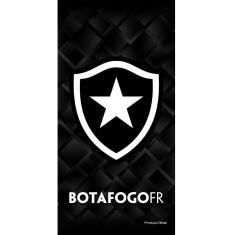 Imagem de Toalha Banho E Praia Time Aveludada Botafogo Brasão Oficial