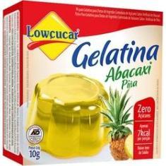 Imagem de Gelatina Abacaxi 10G Lowçucar