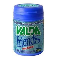 Pastilhas Valda Friends Pote 50g